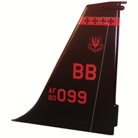 *Customized U-2 Tail Flash Plaque